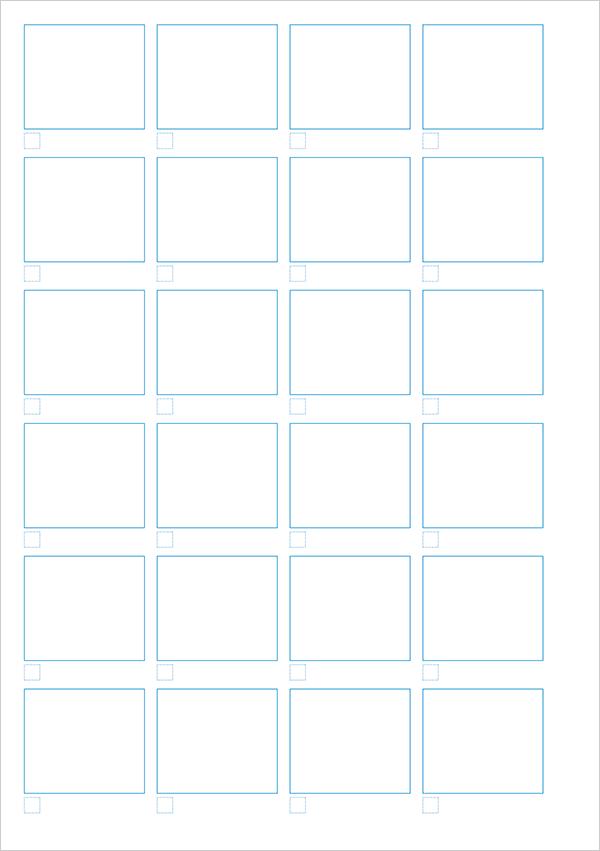 PDF配布|A5|ラフ描き出し用テンプレート(偶数ページ用)