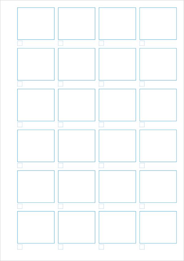 PDF配布|A5|ラフ描き出し用テンプレート(奇数ページ用)